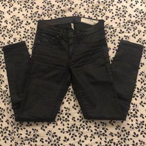 rag & bone coated legging jeans